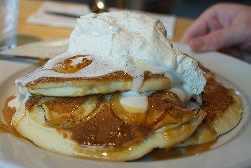 pancakes sin azúcar