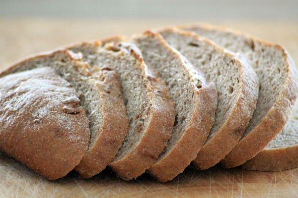 Pan de centeno - harinas para diabeticos