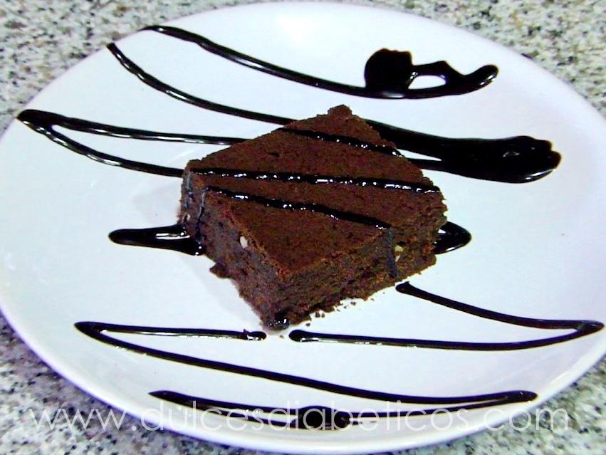 brownie sin azucar