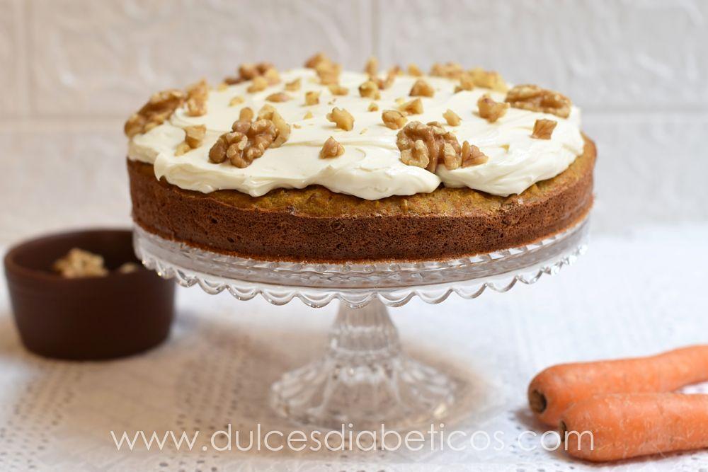 Carrot cake sin azucar