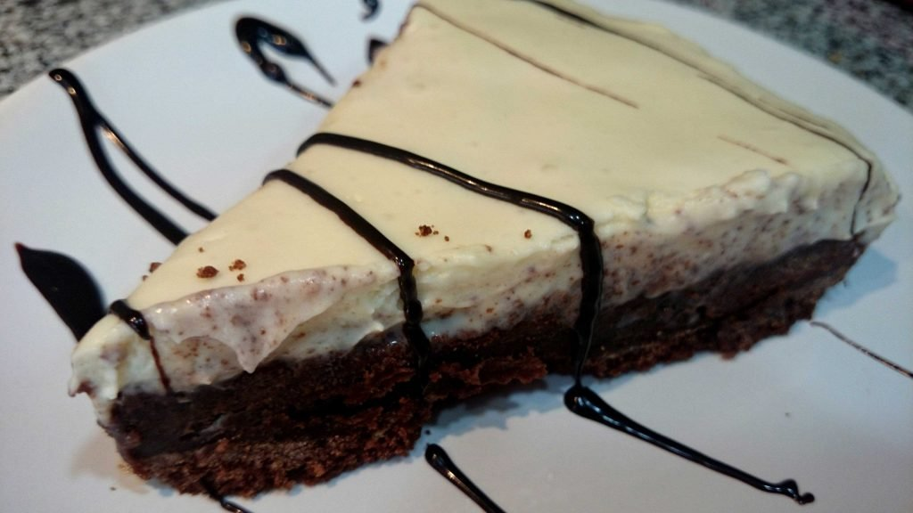 pastel de tres chocolates sin azúcar apto para diabéticos