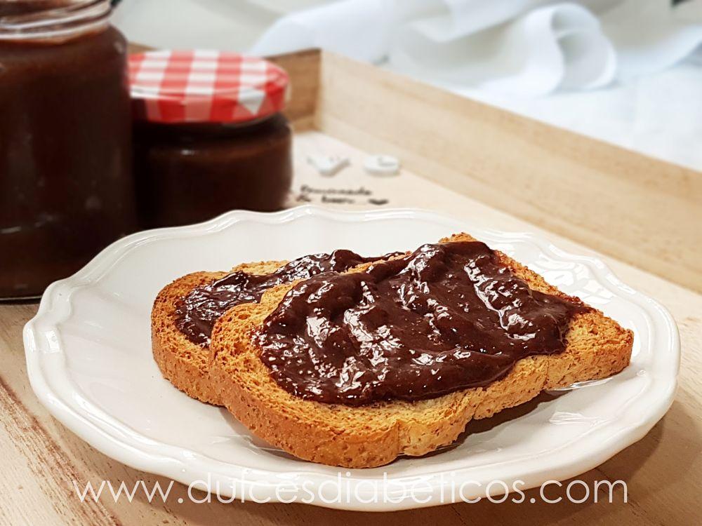 Nutella casera sin azucar