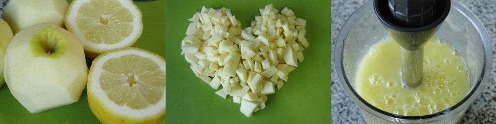sorbete de manzana sin azucar - 1