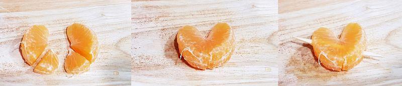 brochetas de mandarina para san valentin - 1