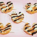 brochetas de mandarina para san valentin