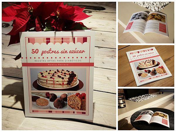 libro postres sin azucar - collage