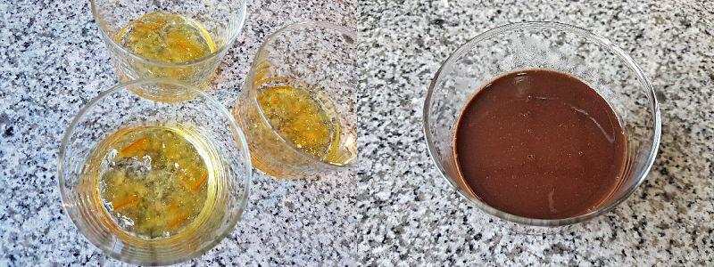 crema de naranja y chocolate sin azucar - 2