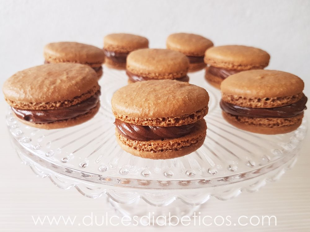 macarons de chocolate sin azucar - grupo