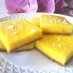 lemon bars sin azucar