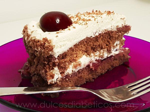 tarta selva negra - porcion