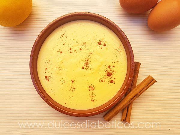 Crema catalana sin azucar