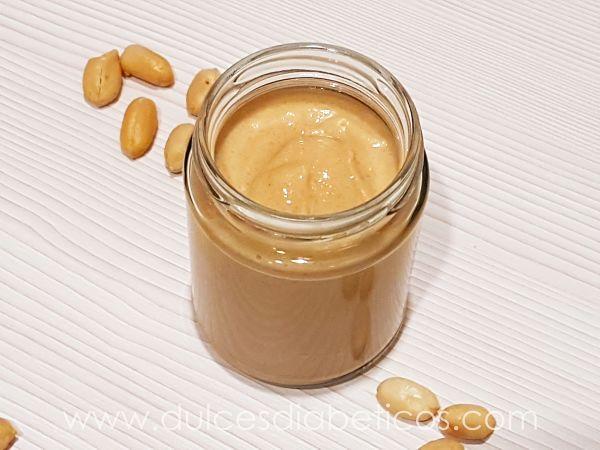 Crema de cacahuete sin azucar