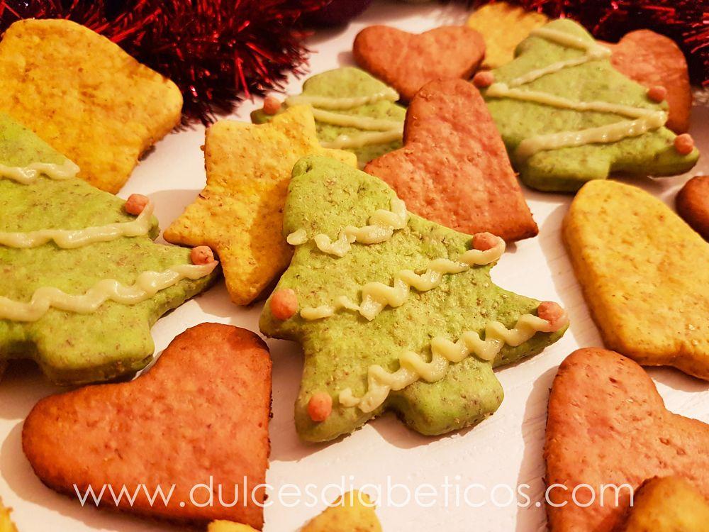 Galletas de Navidad sin azucar - arbol de navidad