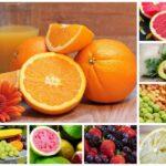 Mejores frutas diabeticos - Collage