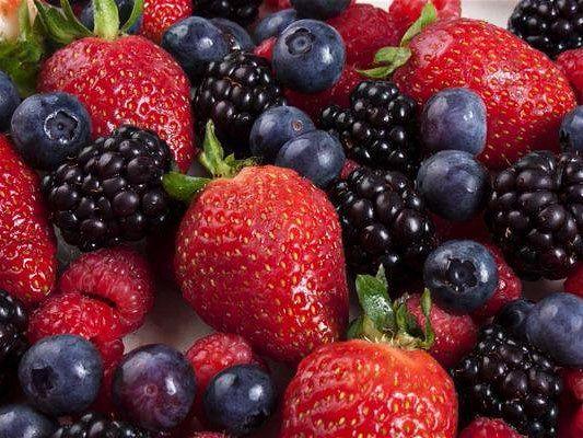 Mejores frutas diabeticos - Frutos rojos y diabetes