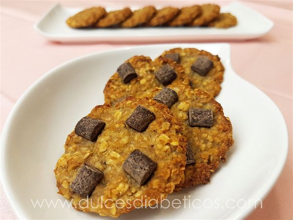 galletas de avena light receta sin harina