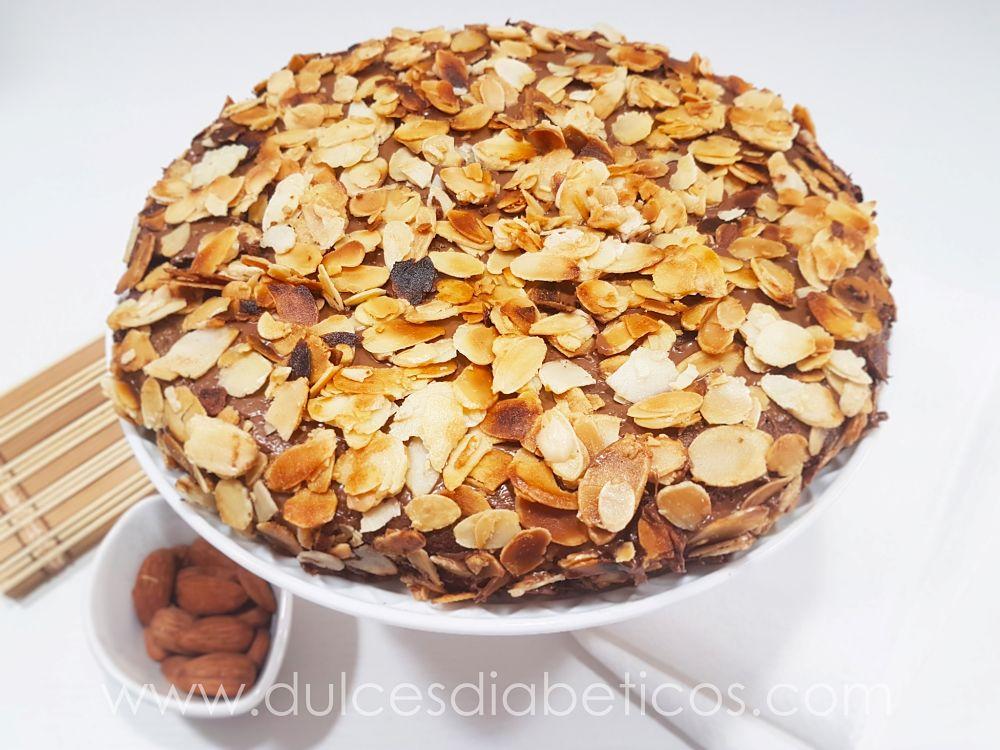 Torta de almendras para diabeticos