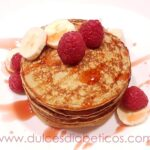 Tortitas de avena y platano saludables - Dulces Diabeticos