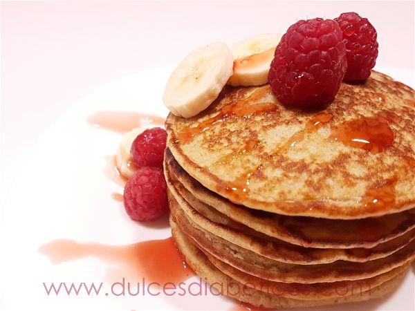 Tortitas saludables de avena y platano - Dulces Diabeticos
