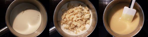Turron de chocolate blanco y pistachos sin azucar - 1