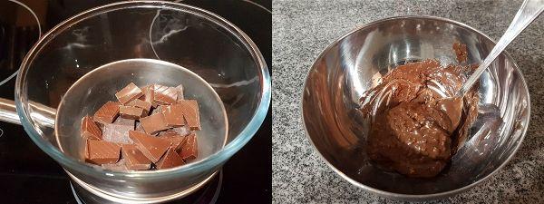 Bombones rellenos de nutella y crocanti sin azucar - 1