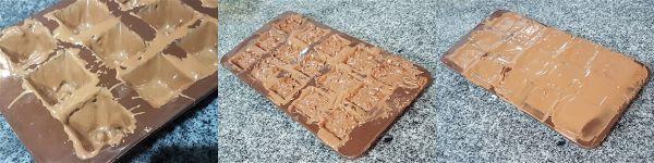 Bombones rellenos de nutella y crocanti sin azucar - 2