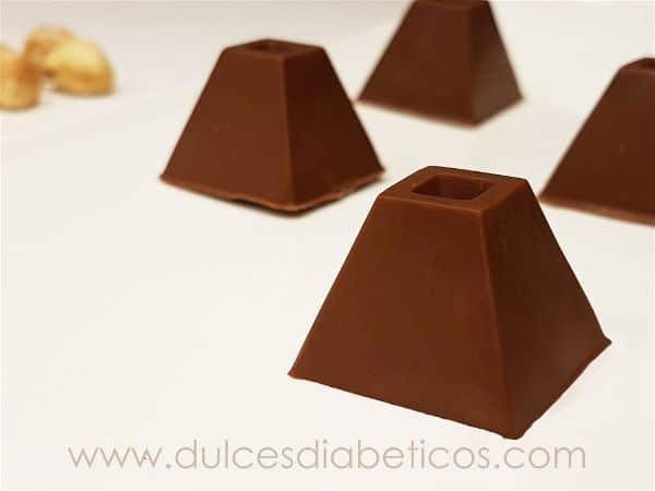 Bombones rellenos de nutella y crocanti