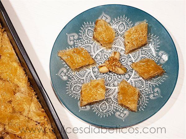 Receta de baklava sin azucar