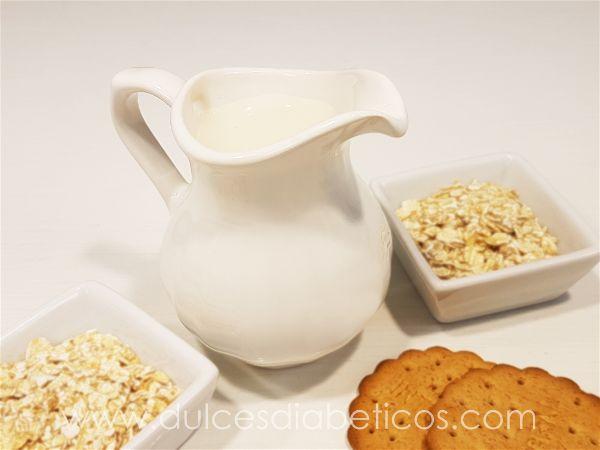 Receta de leche de avena casera - w