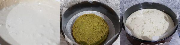 Tarta de te verde sin azucar - 3