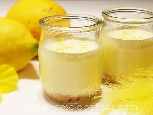 Postres de limón sin azúcar