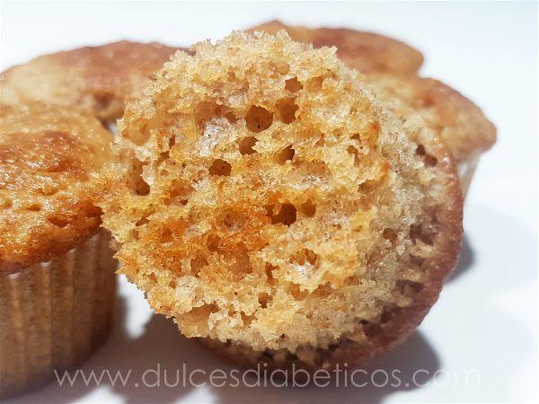 Mini muffins de manzana sin azucar
