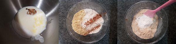 Mini muffins de manzana y canela sin azucar - 2