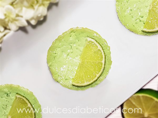 Pastelitos de lima sin azucar