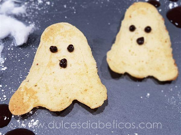 Tortitas con forma de fantasma