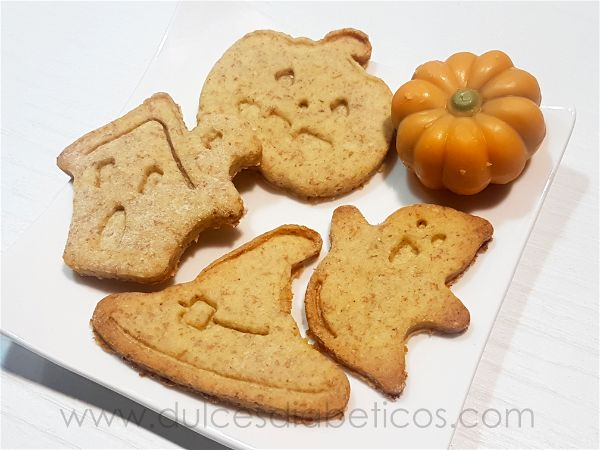 Galletas de halloween con formas
