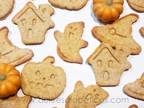 Galletas de halloween sin azucar