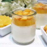 Mousse de yogur con manzana sin azucar