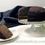 Tarta black velvet sin azucar