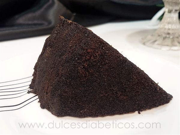 Textura aterciopelada de la superficie de la tarta