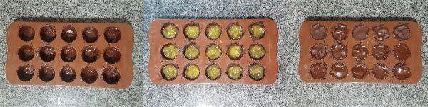 Bombones de chocolate y naranja sin azucar - 1
