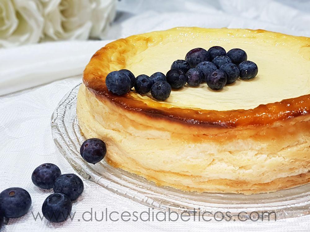 Tarta de queso y yogur griego