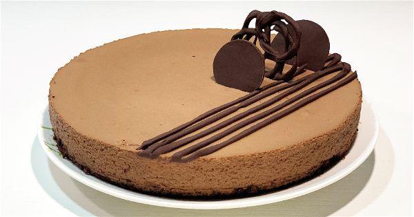Tarta mousse de chocolate sin azucar - facebook