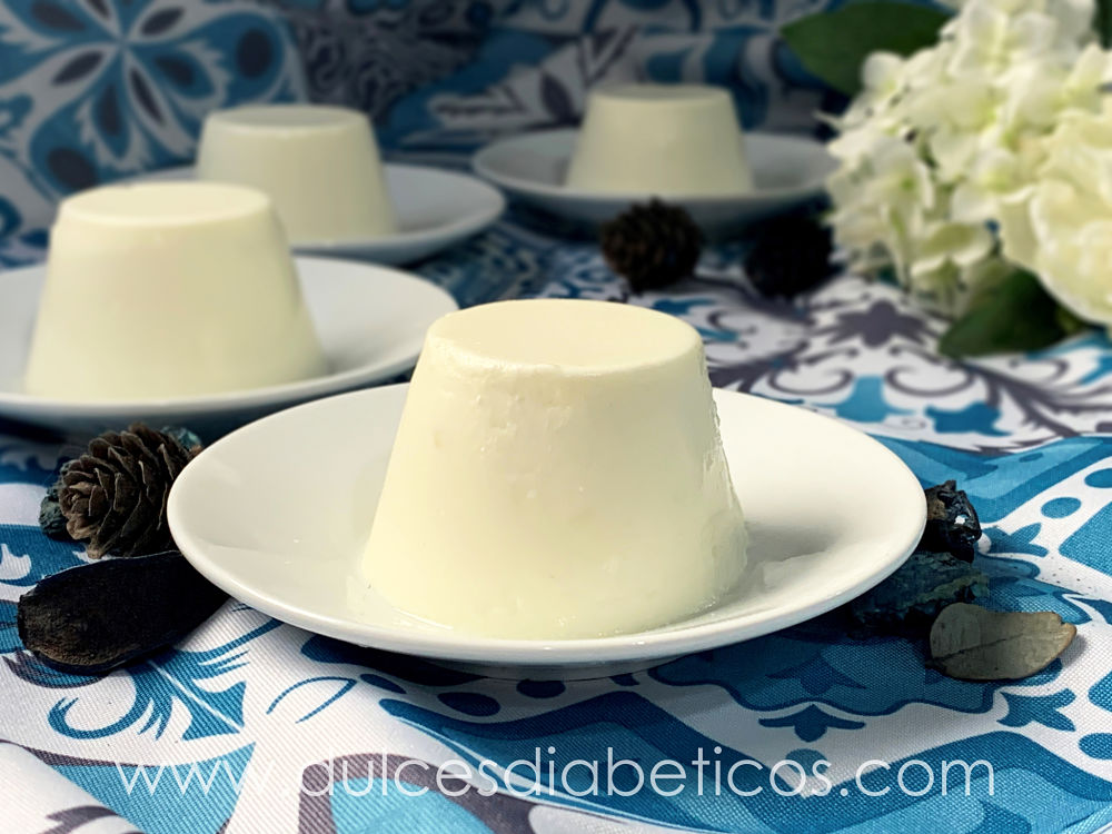 Flan de queso sin azucar