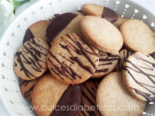 Galletas de espelta con chocolate