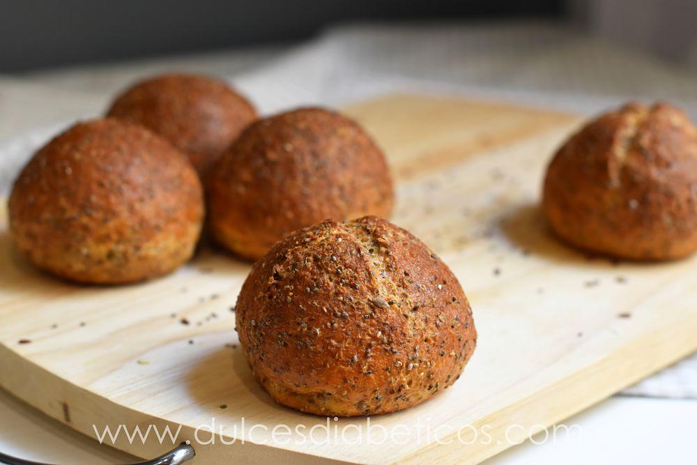 Pan proteico bajo en hidratos de carbono