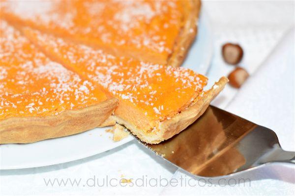 Pastel de batata o boniato sin azucar