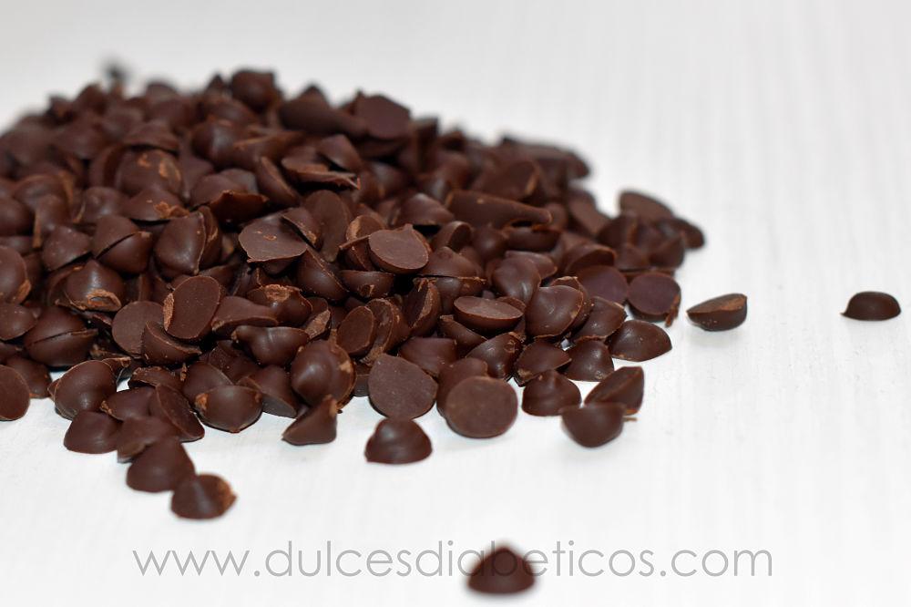 Pepitas de chocolate sin azucar