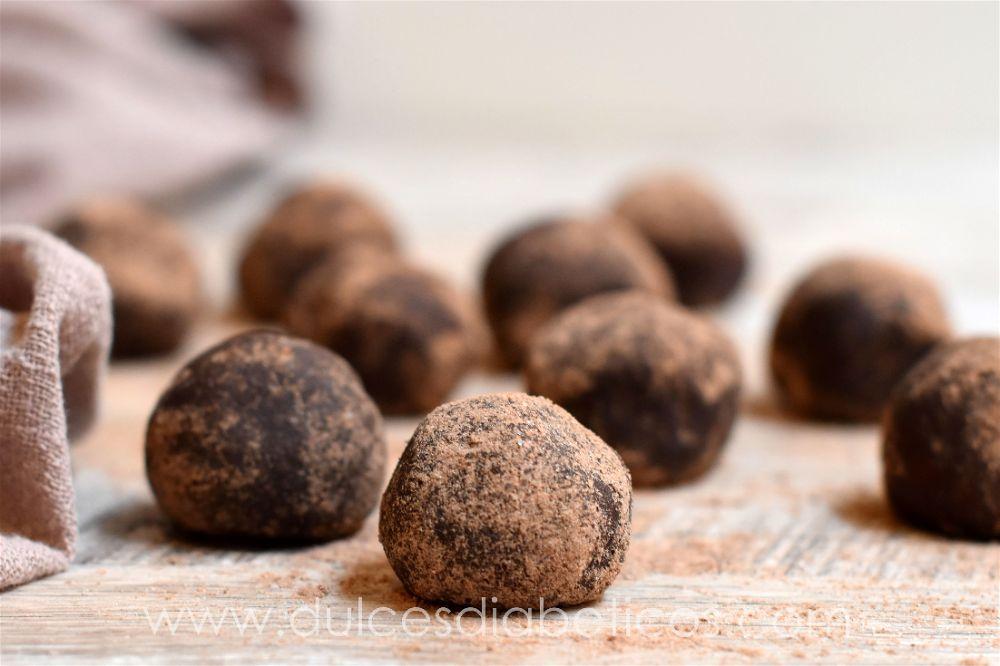 Trufas de nutella sin azucar
