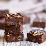 Brownie fit saludable y sin azucar
